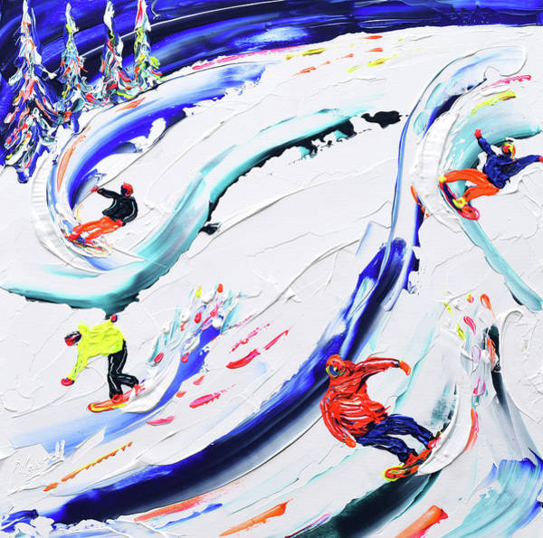 Painting - Ripping It Up by Pete Caswell