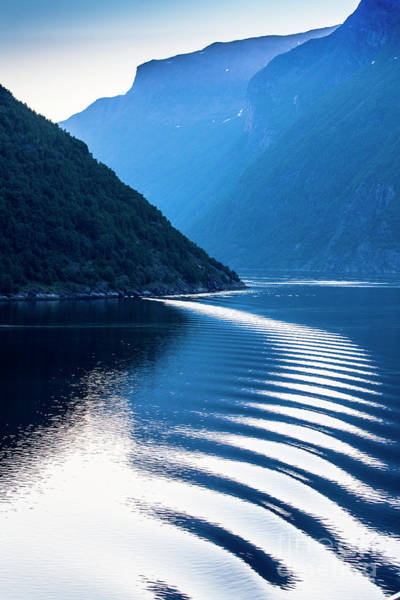 Wall Art - Photograph - Ripple In Geiranger Fjord, Norway by Sheila Smart Fine Art Photography