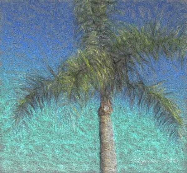 Digital Art - Rippled Palm by Jacqueline Sleter