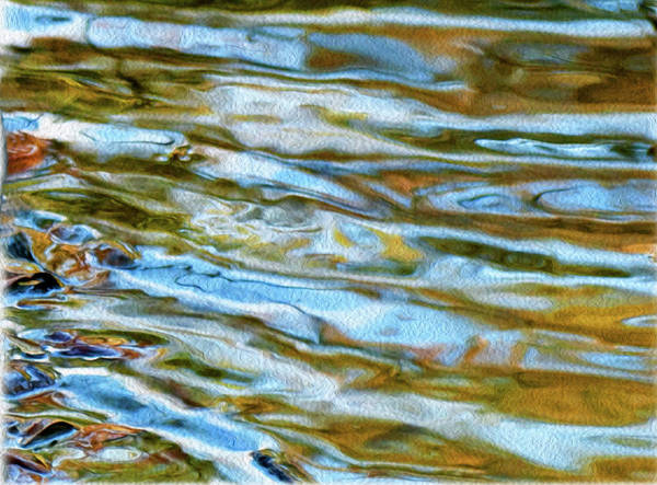 Digital Art - Ripples 07 by Gene Norris