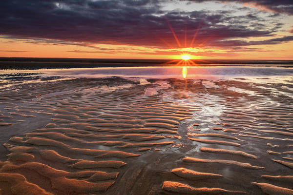Wall Art - Photograph - Ripples Aglow by Michael Blanchette