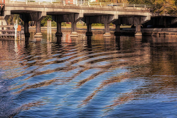 Photograph - Ripples And Reflections by John M Bailey