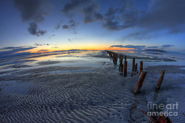 Photograph - Ripples In The Sand by Spencer Baugh