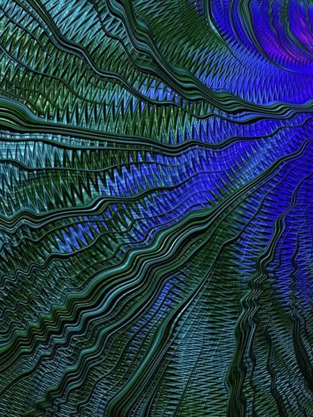 Wall Art - Digital Art - Rippling by Amanda Moore