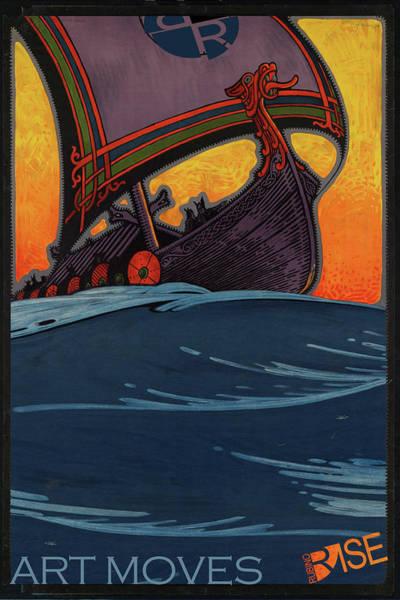 Painting - Rise Art Moves by Tony Rubino