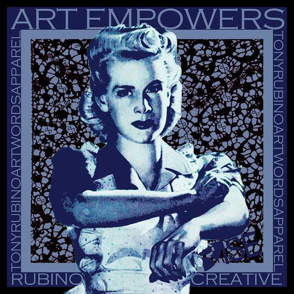 Painting - Rise Empower by Tony Rubino