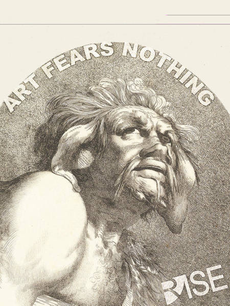 Wall Art - Painting - Rise Fear Nothing by Tony Rubino