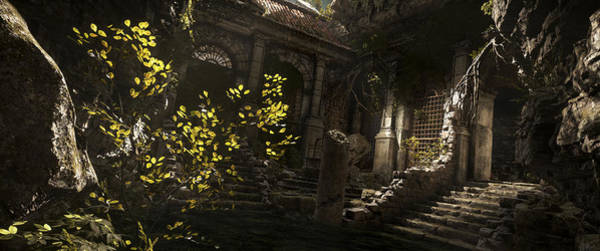 Landscape Digital Art - Rise Of The Tomb Raider by Maye Loeser