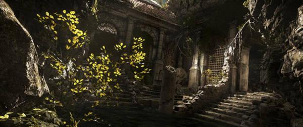 Nature Digital Art - Rise Of The Tomb Raider by Maye Loeser