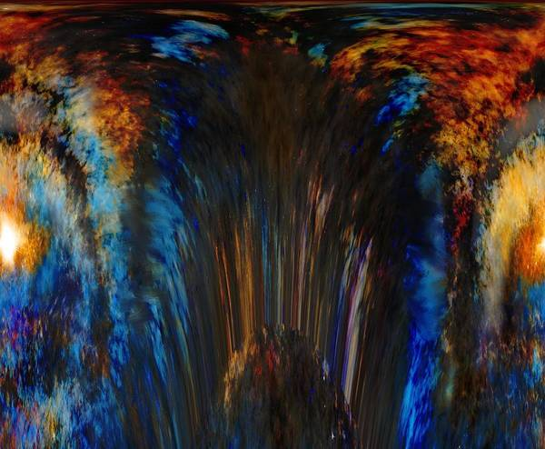 Wall Art - Mixed Media - Rise Or Fall Abstract by Lisa Stanley