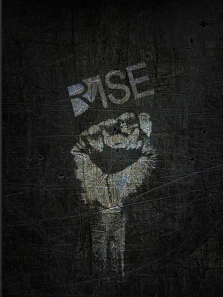Mixed Media - Rise Power by Tony Rubino