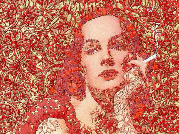 Painting - Rise Rubino Red by Tony Rubino