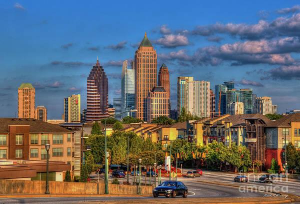 Atlanta Symphony Orchestra Photograph - Rising Atlanta Midtown Atlantic Station Art by Reid Callaway