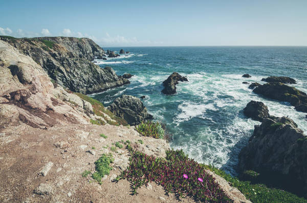 Photograph - Rising Cliffs At Bodega Head by Margaret Pitcher