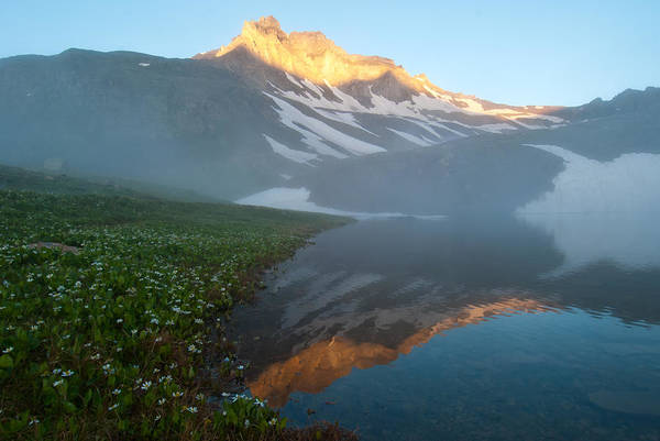 Photograph - Rising Fog In The Alpine by Cascade Colors