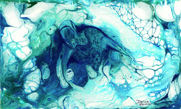 Painting - Rising From The Depths by Darice Machel McGuire