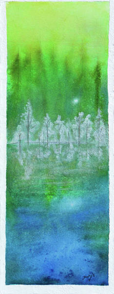 Wall Art - Painting - Rising Mist by Donna Blackhall