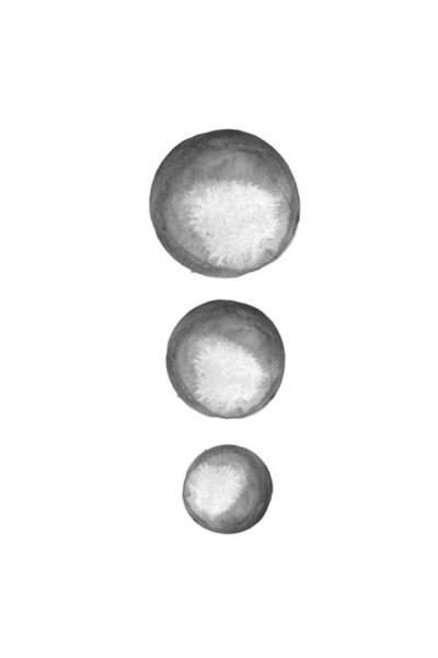 Moon Digital Art - Rising Moons by Nordic Print Studio