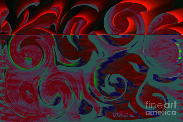 Digital Art - Rising Out Of Chaos by Donna Bentley