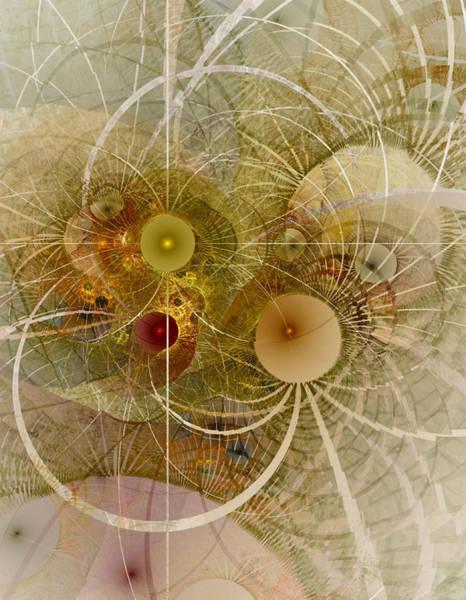 Wall Art - Digital Art - Rising Spring - Fractal Art by NirvanaBlues