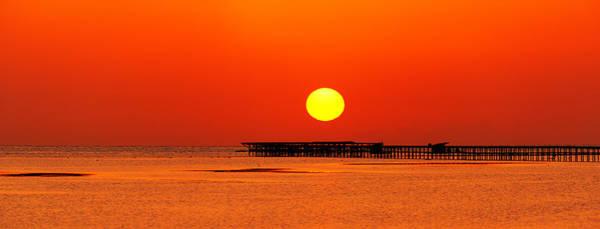Photograph - Rising Sun In Nabq Bay by Sun Travels