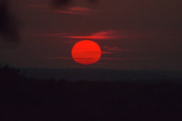 Photograph - Rising Sun In Texas by Dorothy Cunningham