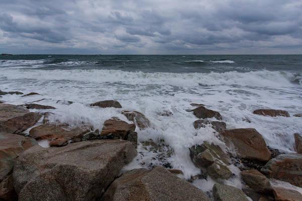Photograph - Rising Tide At Minot Beach by Brian MacLean