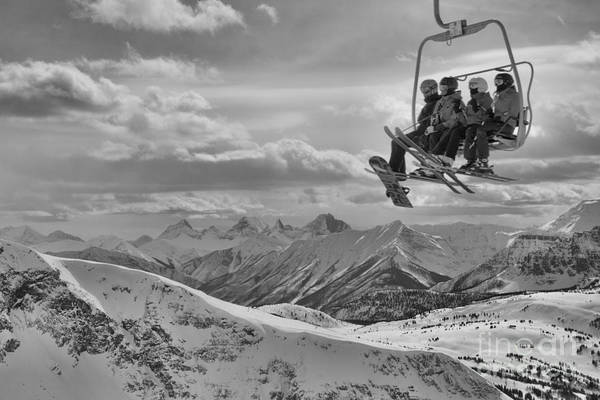 Photograph - Rising To The Top Of Sunshine Black And White by Adam Jewell