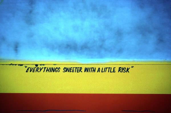 Risk Art Print