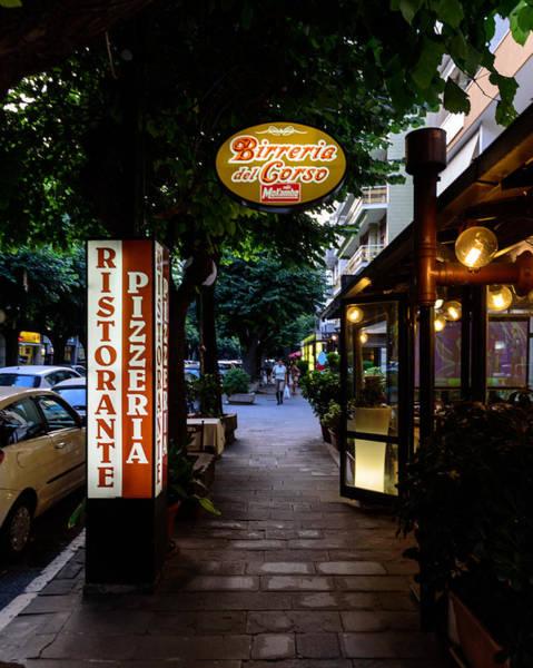 Photograph - Ristorante Pizzeria by Randy Scherkenbach