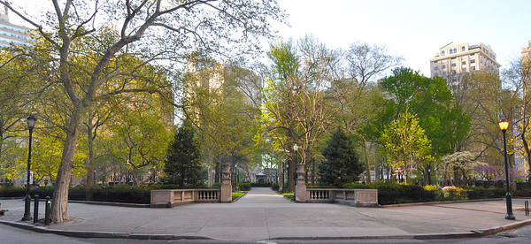 Rittenhouse Square Wall Art - Photograph - Rittenhouse Square In The Morning by Bill Cannon