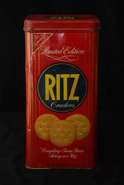 Nabisco Photograph - Ritz Crackers by Rob Hans
