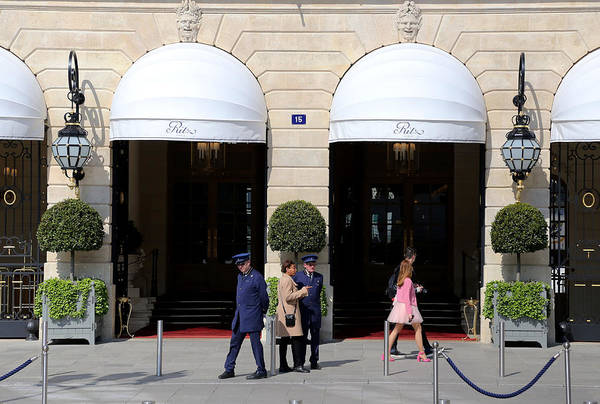 Photograph - Ritz Hotel Paris by Andrew Fare