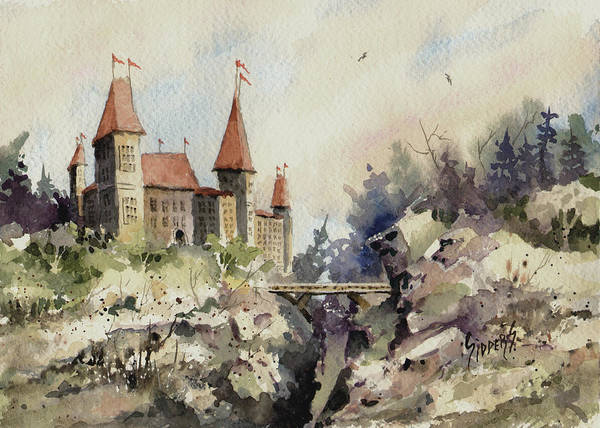 Painting - Ritzenberg Castle by Sam Sidders