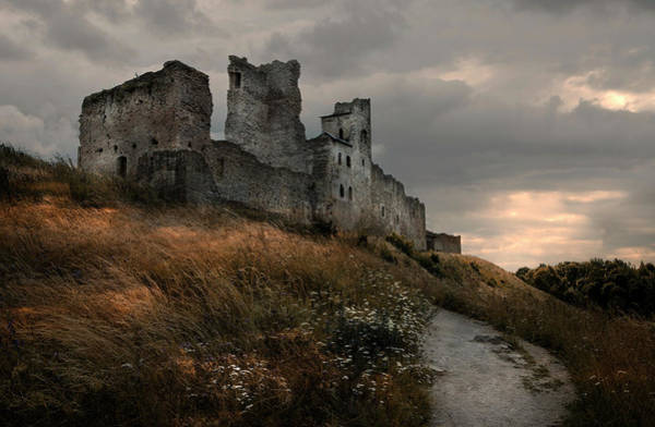 Photograph - Ruined Castle In Rakvere by Jaroslaw Blaminsky