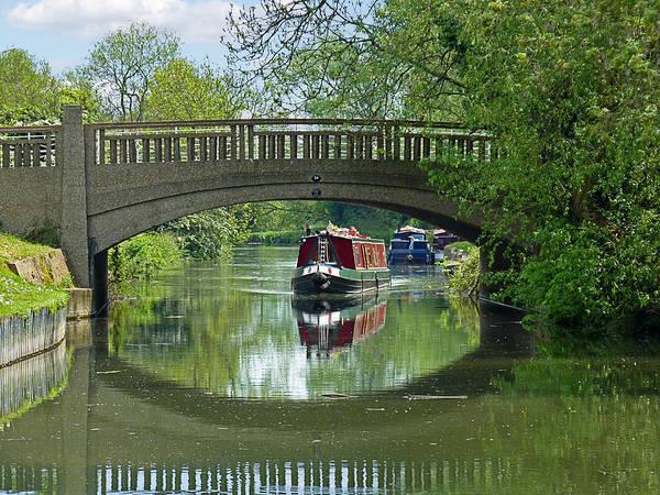 Photograph - River At Harlow Mill by Gill Billington