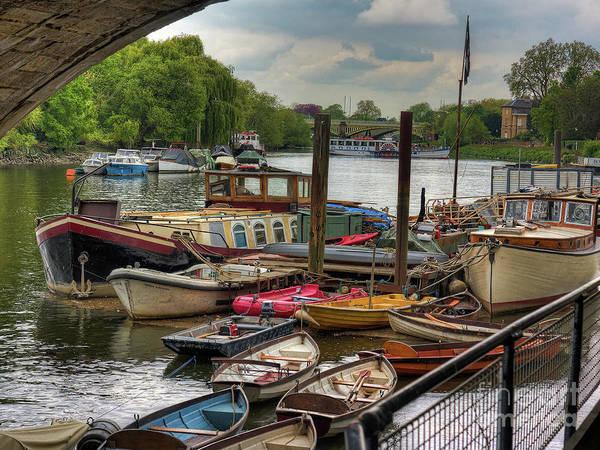 Photograph - Underneath The Bridge by Leigh Kemp