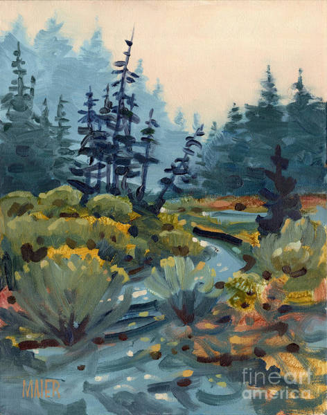 Russian River Painting - River Bend by Donald Maier