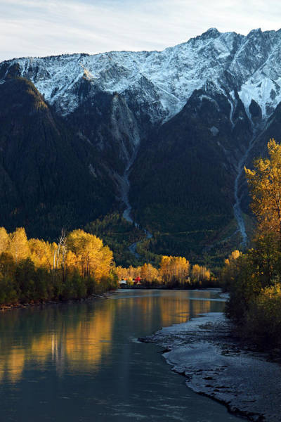 Photograph - River Bend Mount Currie by Pierre Leclerc Photography