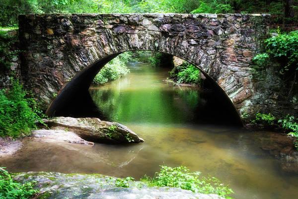 Photograph - River Bridge Series Y6535 by Carlos Diaz
