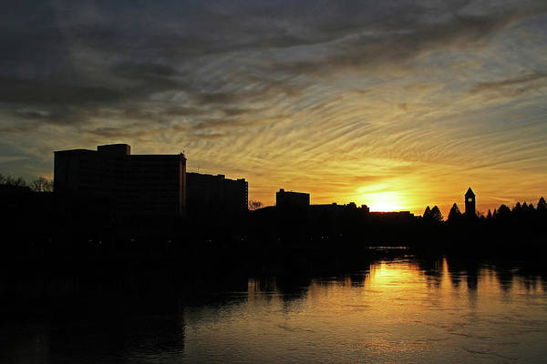 Expo 74 Photograph - River City Sunset 4215 by Donald Sewell