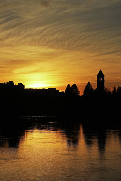 Expo 74 Photograph - River City Sunset 4217 by Donald Sewell