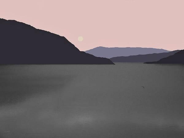 Digital Art - River Fog by Val Arie