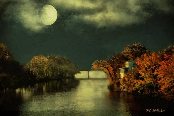Painting - River House by RC DeWinter