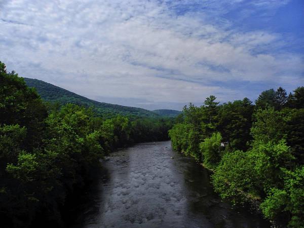 Photograph - River In Cornwall Bridge Connecticut by Raymond Salani III