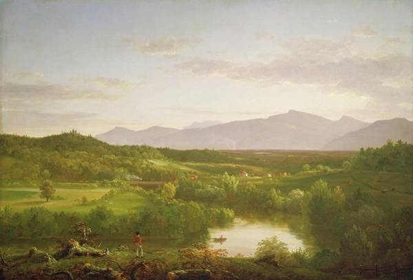 Catskills Painting - River In The Catskills by MotionAge Designs
