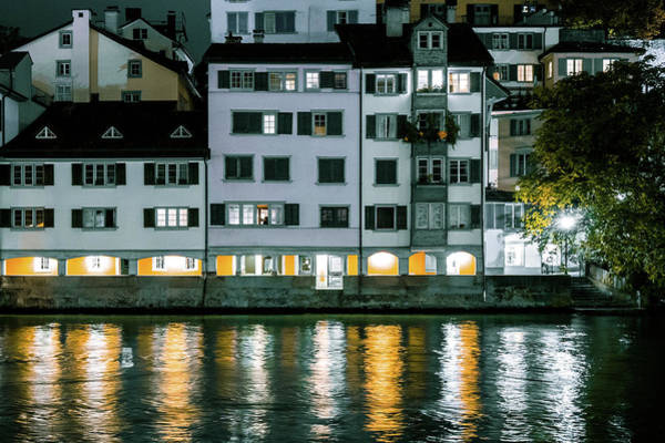Photograph - River Lights by Christopher Brown