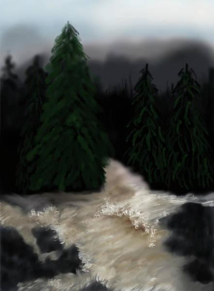 Wall Art - Mixed Media - River North Carolina  by Lisa Stanley