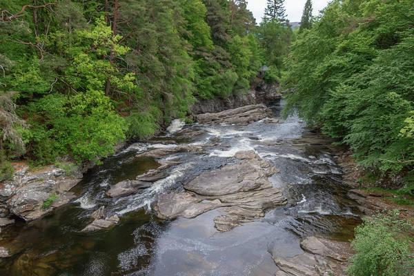 Photograph - River Moriston  0406 by Teresa Wilson