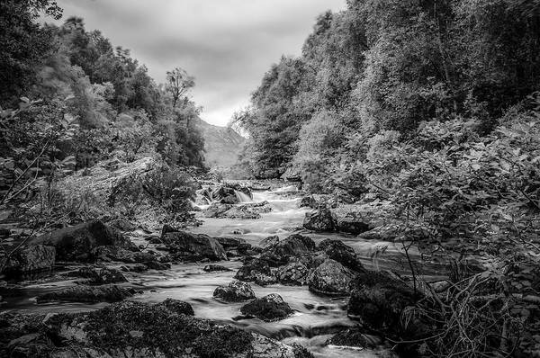 Photograph - River Moriston On Its Way Down From Loch Cluanie by Neil Alexander